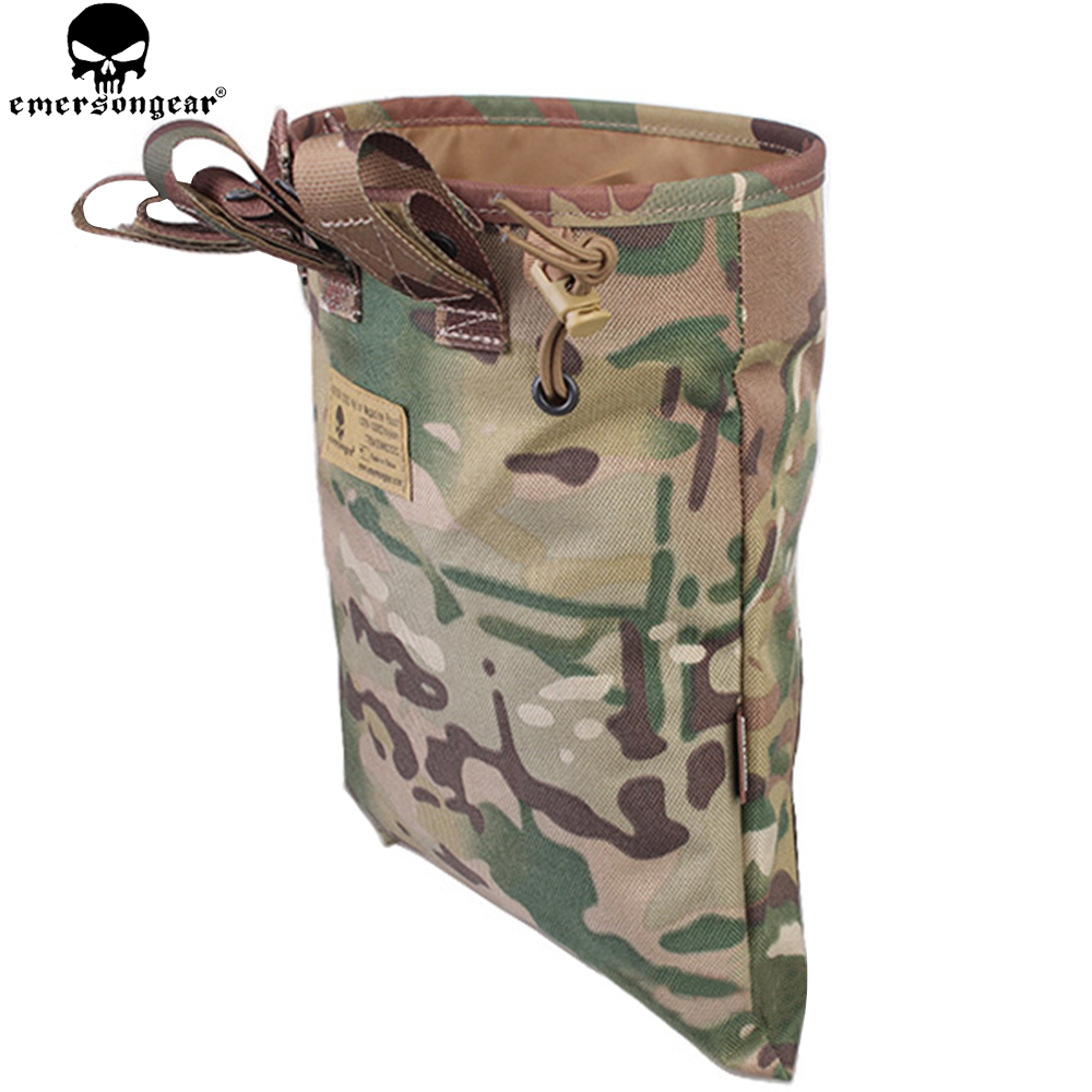 EMERSONGEAR Drop Pouch Tactical Sundries Folding Dump Pouch Airsoft - Jakt - Foto 4