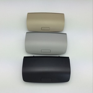 for VW Tiguan Golf MK5 MK6 Passat B7 CC Skoda Superb Yeti Black Gray Beige Sunglasses Box Sun Glasses Case 1K0 1KD 868 837 D/E/G