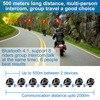 Fodsports M1-S Pro Helmet intercom Headset Motorcycle Waterproof Intercom Bluetooth interphone 8 Rider 2000M Intercomunicador discount