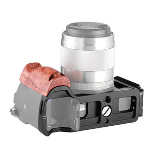 Image 4 - SmallRig A6500 L Bracket CageสำหรับSony Alpha A6500 แผ่นด้านข้าง + Arca Baseplate Lแผ่นไม้hand Grip  2074
