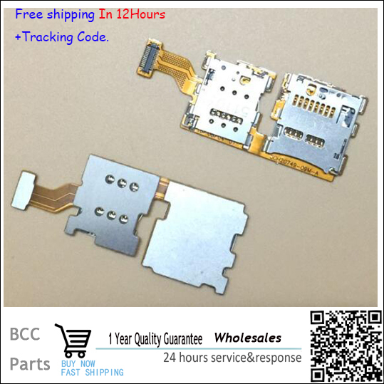 Original quality 100% NEW!For HTC One A9 SIM Card & SD TF Memory Card Reader Slot Tray Socket Holder Flex Cable In stock!