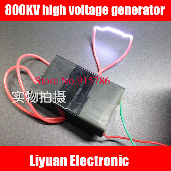 2pcs Square Pulse High Voltage Module 800kv High Voltage