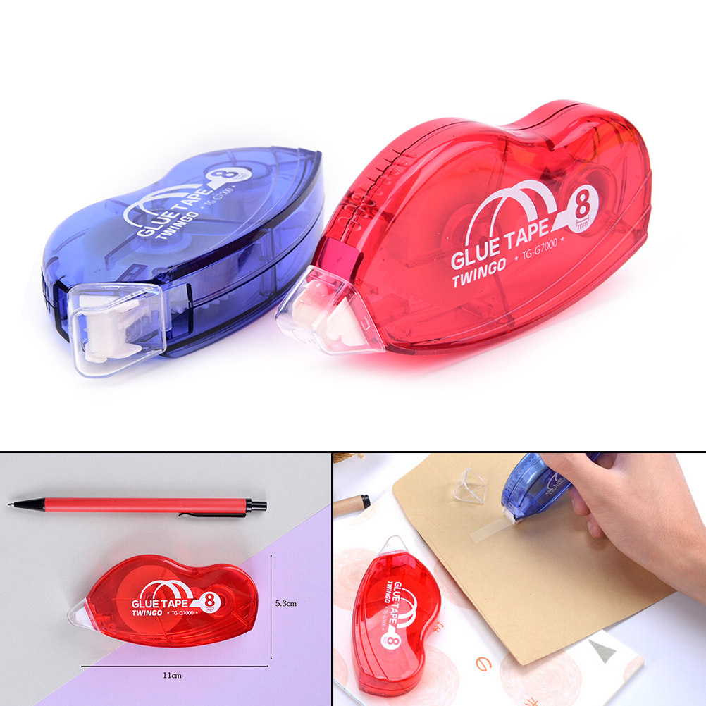 White Sticker StudyUltra Wide OfficePacking DoubleSided Adhesive RollerCorrection Tape SchoolOffice Supply StationeryTape22mx8mm