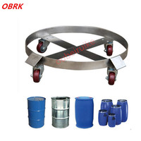 Carrying Capacity 300Kg Stainless Steel Oil Drum Carrier