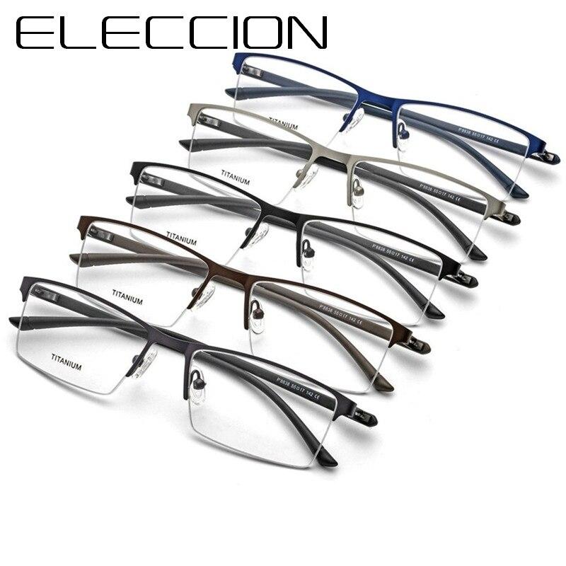 d2a908f7ee Gafas ópticas de titanio montura hombres ultraligero mujeres nueva aviación  miopía prescripción gafas coreana Dinamarca sin