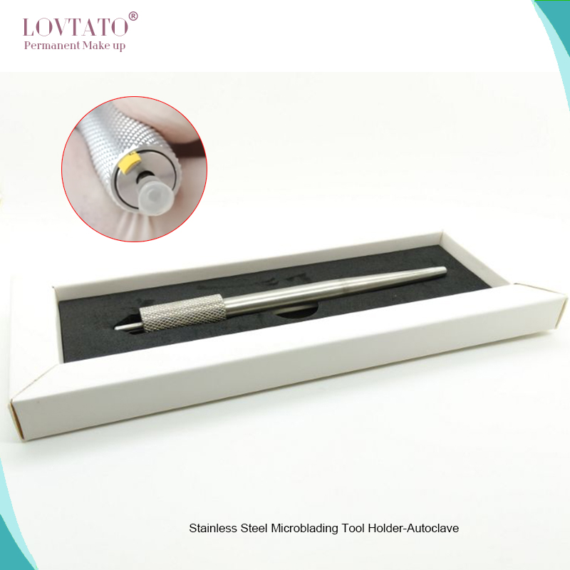 Autoclave Microblading Tool Holder Campass Type Stainless Steel tattoo pen3D Eyebrow Eccentric manual tools pmu makeup