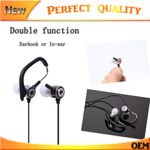 Free 2017  HIFI In-ear Earphone Stereo Quality Music Headphone/gaming Headset with Microphone for Audio / Video Players TV Phone