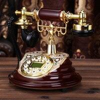 YE Топ телефон антикварные Европейский Сад Ретро домашний телефон офисным телефоном Идентификатор вызывающего абонента набрать номер укра