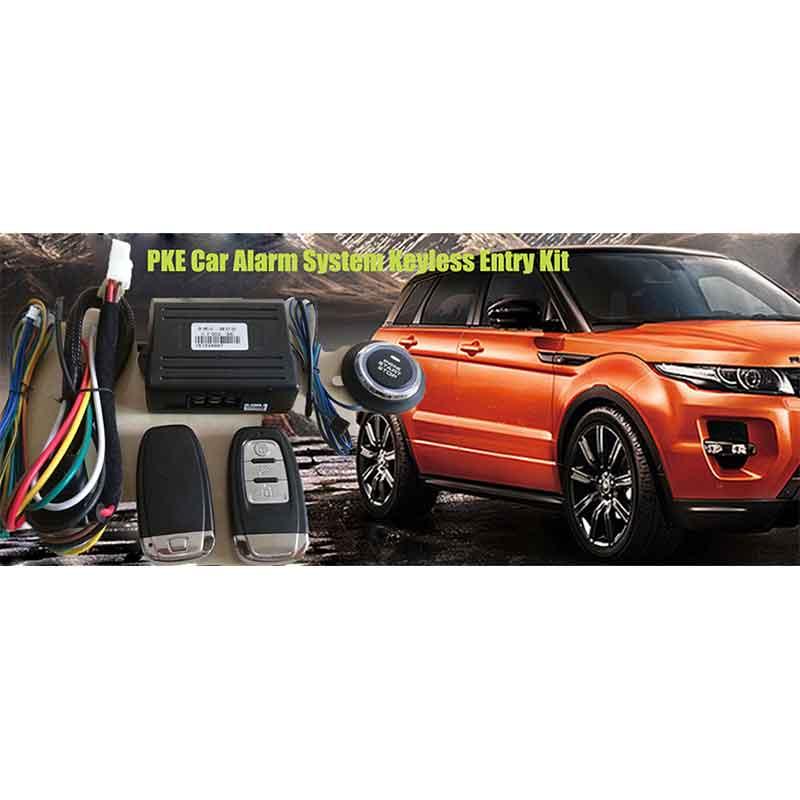 Alarme de voiture système d'entrée sans clé verrouillage Central porte-clés alarme démarrage arrêt démarrage automatique alarme automatique démarrage automatique à partir du téléphone PKE MP913