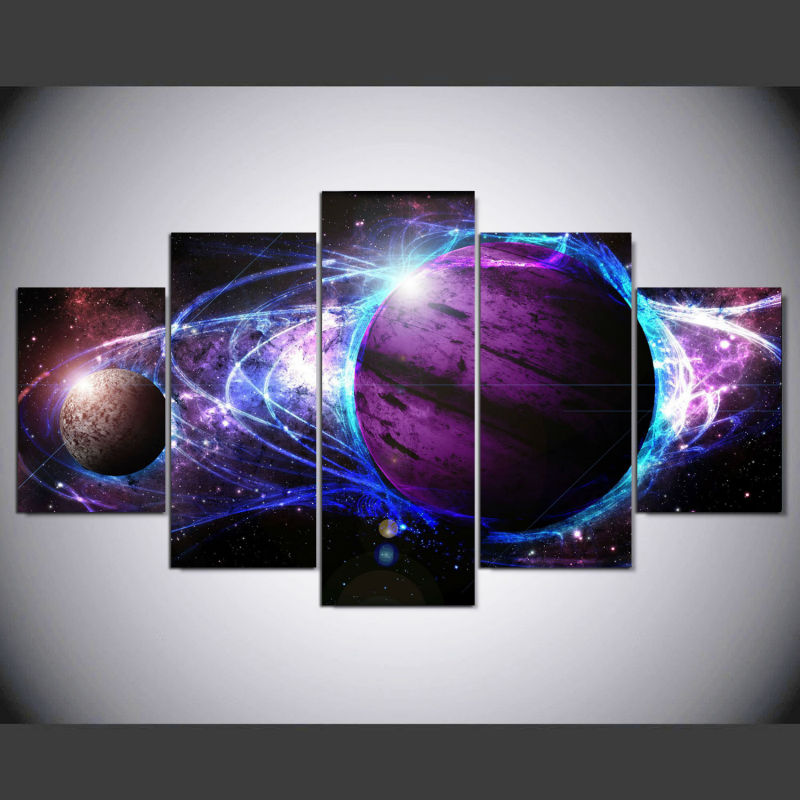 Buy dafenjingmo arts 5 pcs canvas for 5 star energy