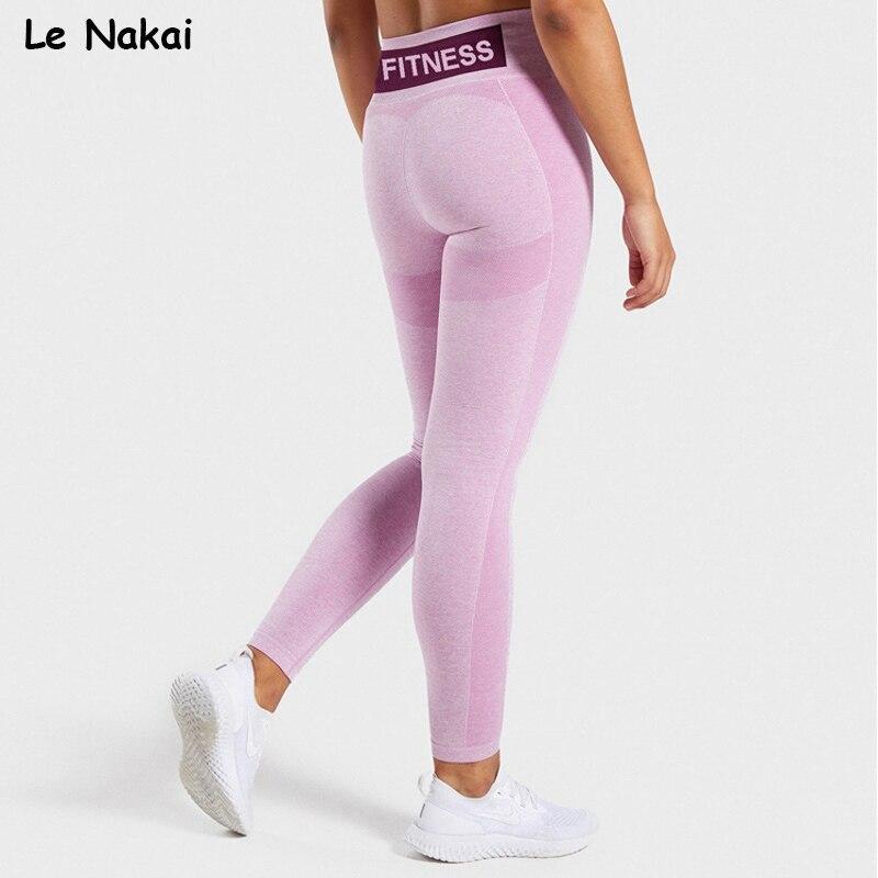 Women fitness seamless leggings high waist sport legging workout gym leggings stretchy yoga pants scrunch butt sweatpants
