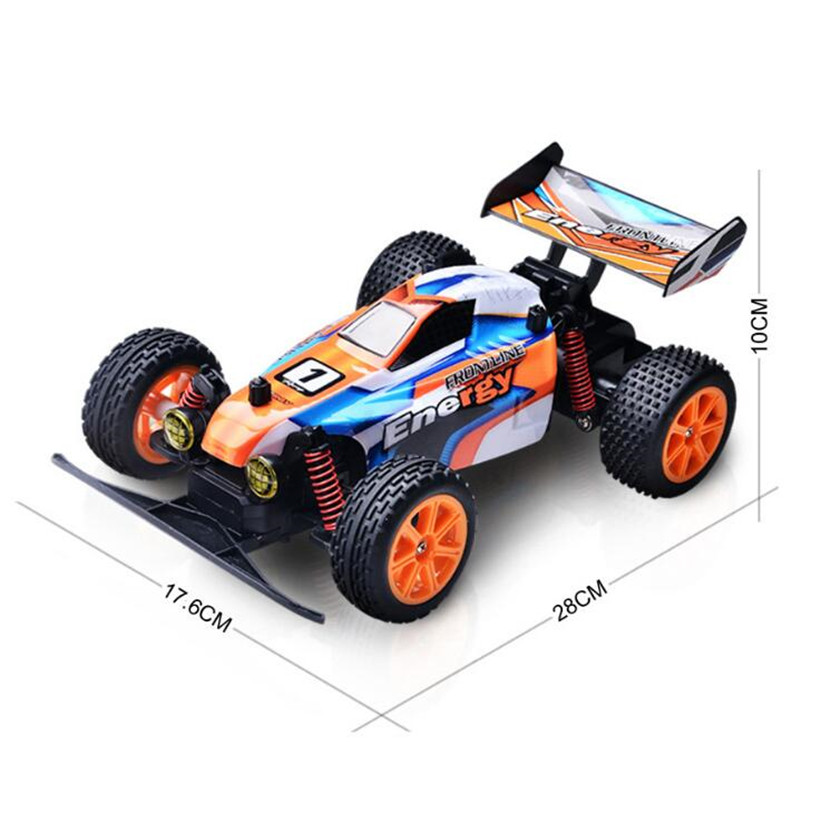 цены New RC Car 2.4G 20 KM/H 1:16 High Speed Racing Car Climbing Remote Control Car Electric Off Road Truck Wltoys Toys For Children