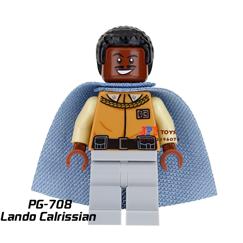 Single star wars super heroes dc comics Lando Calrissian building blocks models bricks toys for children kits brinquedos menino loz super mario kids pencil case building blocks building bricks toys school utensil brinquedos juguetes menino jouet enfant