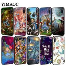 YIMAOC fairy tale Alice in Wonderland Soft Case for