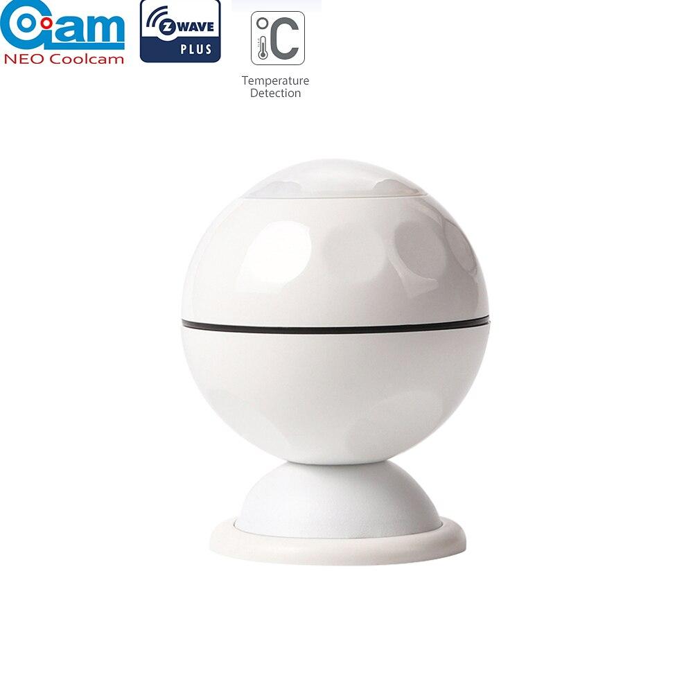 NEO COOLCAM NAS-PD02Z Z-wave Plus PIR Motion Sensor +Temperature Home Automation Z Wave Alarm System Motion Sensor EU 868.4MHZ(China)