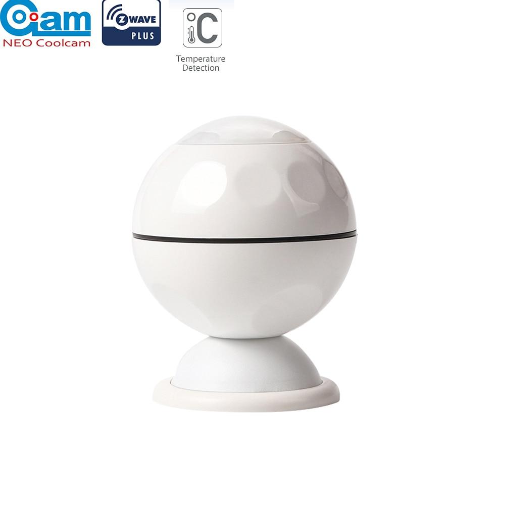 NEO COOLCAM NAS-PD02Z Z-wave Plus PIR Motion Sensor +Temperature Home Automation Z Wave Alarm System Motion Sensor EU 868.4MHZ