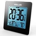 Baldr LCD Digital Alarm Clock Thermometer Backlight Calendar Indoor Temperature Meter Watch Desk Table Snooze Timer Kids Clocks