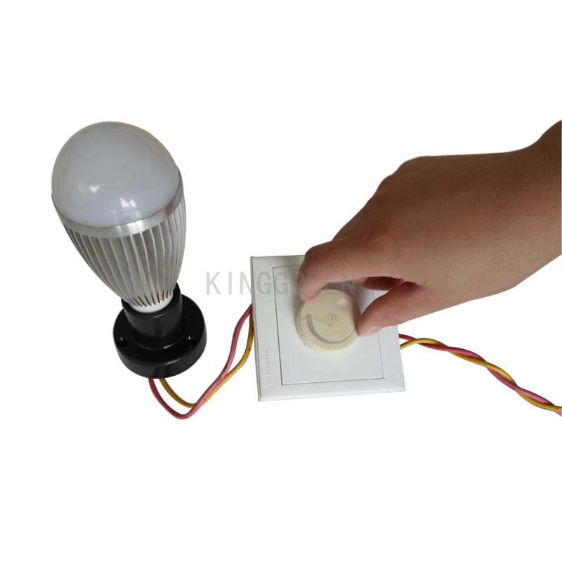 High quality E27 7W LED bulb lamp with dimmer controller new LED light lamp 7W E27 dimmer led lighting Free shipping