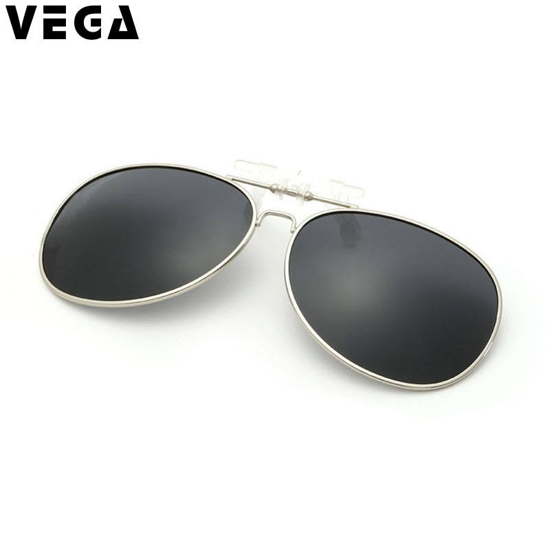 VEGA Eyewear Polarized Clip On Sunglasses Over Glasses Sunglasses Men Women with Case Eyeglasses with Sunglass Clip Ons VG20