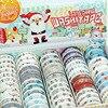 2017 New 1x Christmas Washi Tape Set 60Rolls Decorative Tape Masking Tape Cinta Adhesiva Christmas Deco