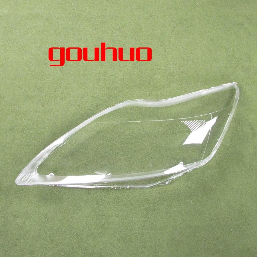 Фары стеклянная крышка прозрачные абажуры лампы оболочки маски для FORD FOCUS 09-11 2 шт