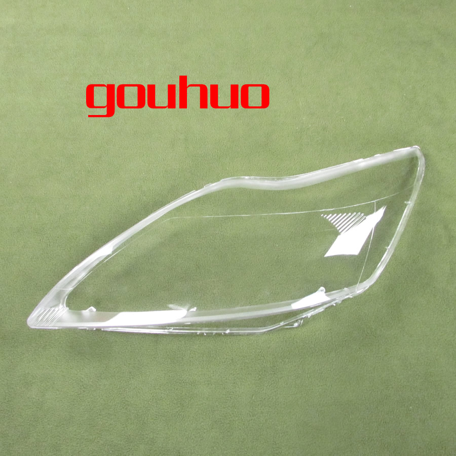 headlamps glass cover transparent lampshades lamp shell masks For FORD FOCUS 09-11 2pcs