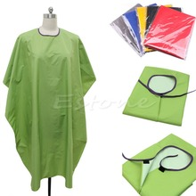 Free Shipping New Hot Adult Salon Waterproof Hair Cut Hairdressing Barbers Cape Gown Cloth