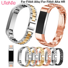 Stainless steel wristband accessories For Fitbit Alta smart watch frontier replacement strap For Fitbit Alta HR smart wristband все цены