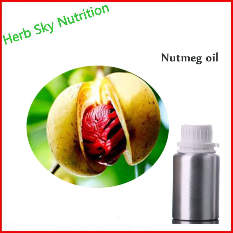 Nutmeg oil base oil, organic cold pressed vegetable oil plant oil free shipping skin care organic natural plant oil 100
