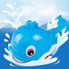 Baby Bathroom Toys Pull Wire Water Spray Dolphin Toy In The Bath Educational For Children Kids