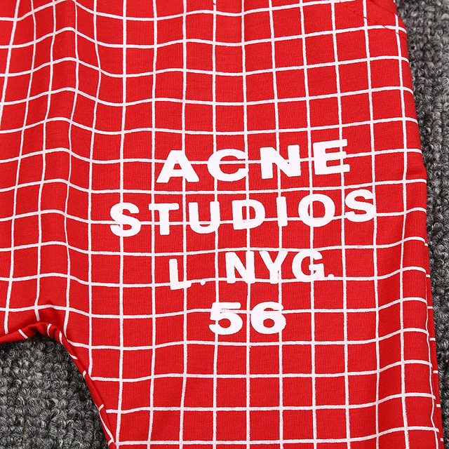 Baby Boy's Plaid Printed Summer Clothing Set 6