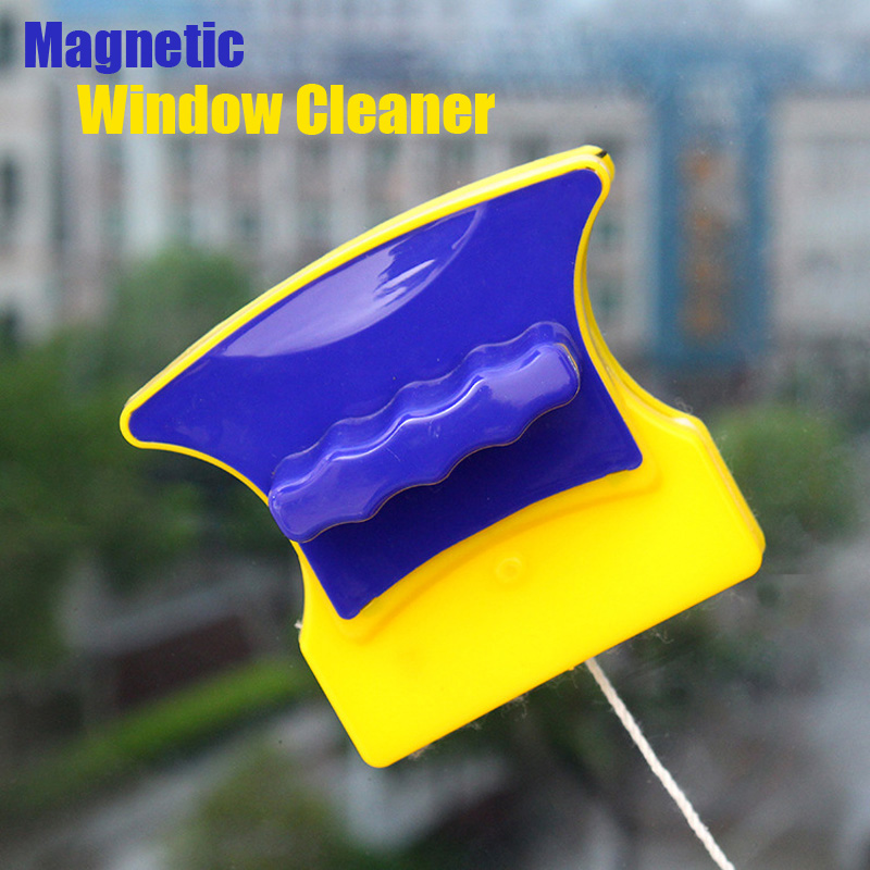 magnetic brush window cleaner for washing windows and household double-sided window cleaner