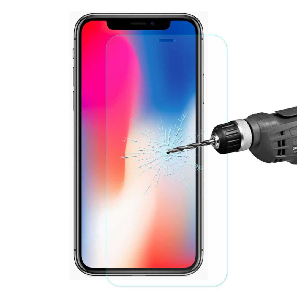 Verre de protection pour iPhone 7 verre protecteur d'écran pour iPhone X XS Max XR 6 7 8 Plus 5 5S SE verre HD Film résistant aux rayures