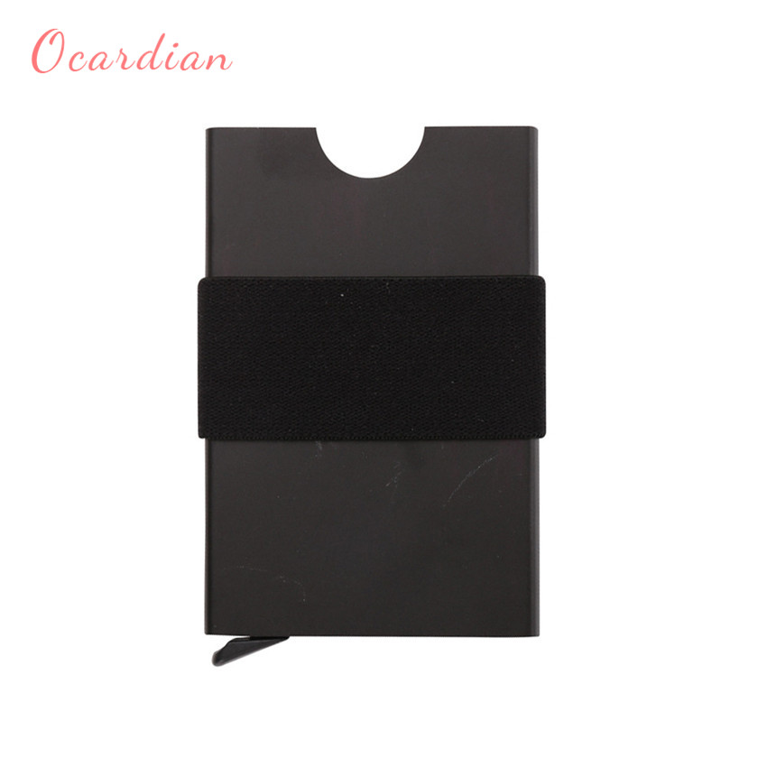 Ocardian 2018 Exquisite Women Men ID Credit Card Protector Leather Wallet Card Holder Pa ...