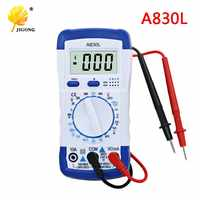 A830L LCD multimètre numérique DC tension ca Diode fréquence multitesteur volts testeur Test courant