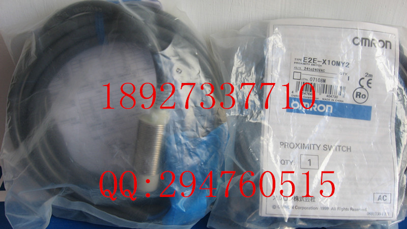 [ZOB] 100% brand new original authentic OMRON Omron proximity switch E2E-X10MY2 2M new and original e2e s05s12 wc c1 e2e s05s12 wc b1 omron proximity sensor proximity switch 10 30vdc