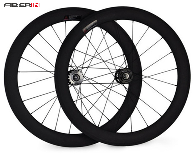 700c 60mm Tubular UD matte Special Carbon cycling clincher novatec single speed carbon track bicycle Fixed