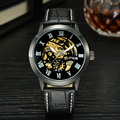 2016 new MCE Mens Roman Numerals Stainless Steel Automatic Mechanical business Wrist Watch  332