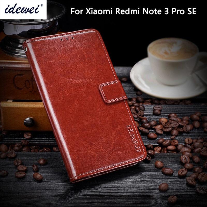 Pour Xiaomi Redmi Note 3 Pro Édition Spéciale SE Version Stand cas Filp Couverture En Cuir Pour Redmi Note3 3i Pro Premier SE 152mm