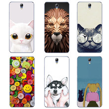 "For Lenovo Vibe S1 Lite Silicon Phone Case For Lenovo S1La40 5.0"" Soft TPU3D Flower Silicone Cases Covers Mobile Phone Bag(China)"