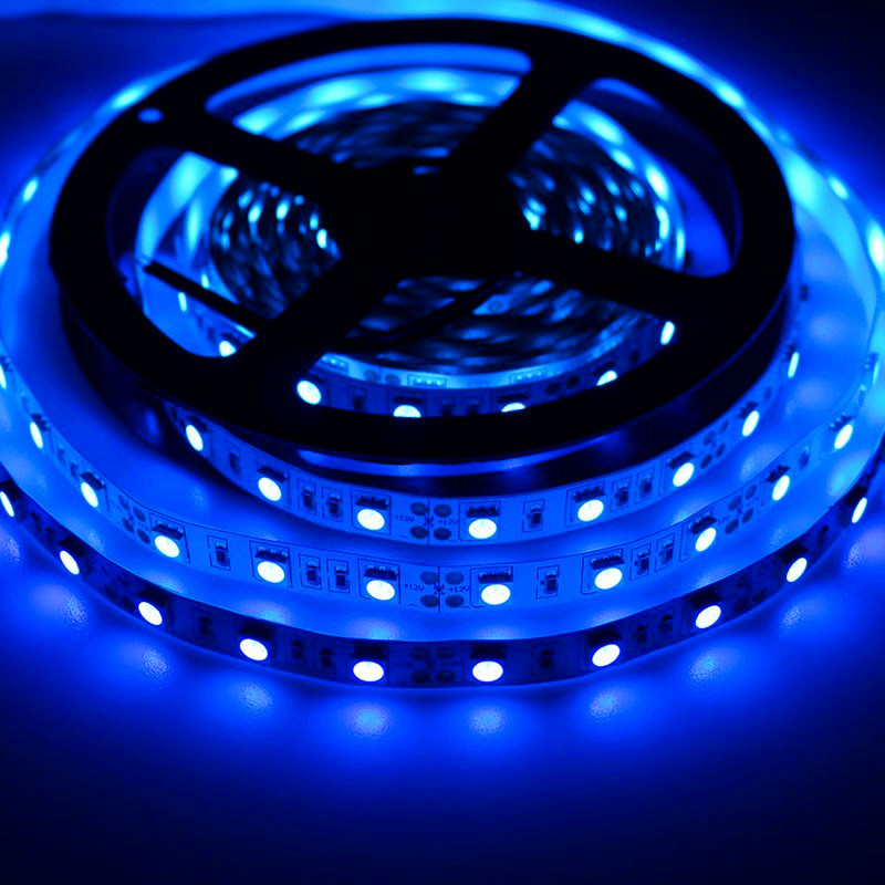 <font><b>UV</b></font> <font><b>LED</b></font> <font><b>Strip</b></font> 5050 3528 SMD Ultraviolet IP65 Waterproof <font><b>LED</b></font> <font><b>UV</b></font> Diode Tape 8MM 10MM Fita Tiras 5M 300LEDs DC12V Plant Pink Purple image