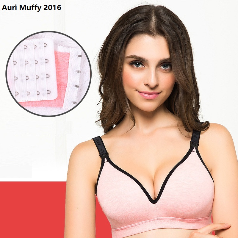 Auri Muffy 2016 One piece model seamless nursing bra Maternity Underwear Breast Feeding Bra Pregnant women underwear