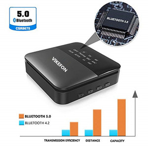Image 3 - Otomatik, 5.0 Bluetooth ses alıcısı verici aptX HD/LL Hifi Stereo müzik 2 in 1 reseptörü Transmisor adaptörü gönderen TV