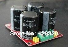 Блок питания для усилителя платы фильтра пластина 50 В 10000 мкФ для LM3886 TDA7293 TDA7294 усилитель