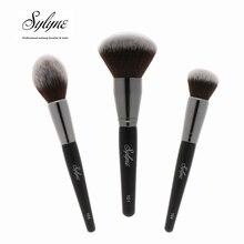 Sylyne кисти для макияжа 3 шт. высокое качество Кисть для лица, профессиональный уход Набор для смешивания пудры основа контур набор кистей для макияжа инструменты