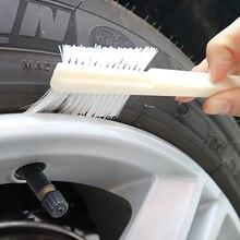 1 tamaño de unidad 19cm herramientas de limpieza de coches cepillo para detalles cepillo de ruedas multifunción limpieza del hogar teclado de la computadora 2019 nuevo producto