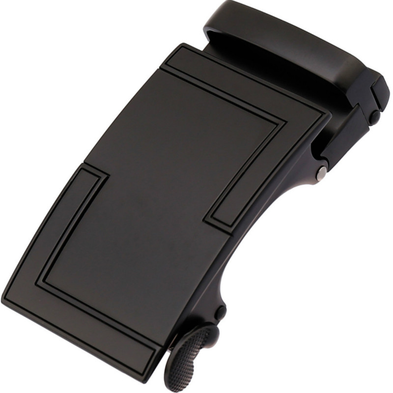 Men's Business Alloy Automatic Buckle Unique Men Plaque Belt Buckles For 3.5cm Ratchet Designer Belts Luxury Belt Y136-21713