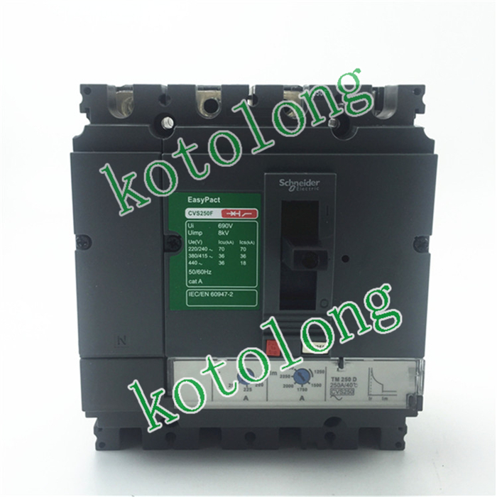 EasyPact CVS250F TMD 4P LV525351 4P-160A LV525352 4P-200A LV525353 4P-250A easypact cvs250f tmd 4p lv525341 4p 160a lv525342 4p 200a lv525343 4p 250a