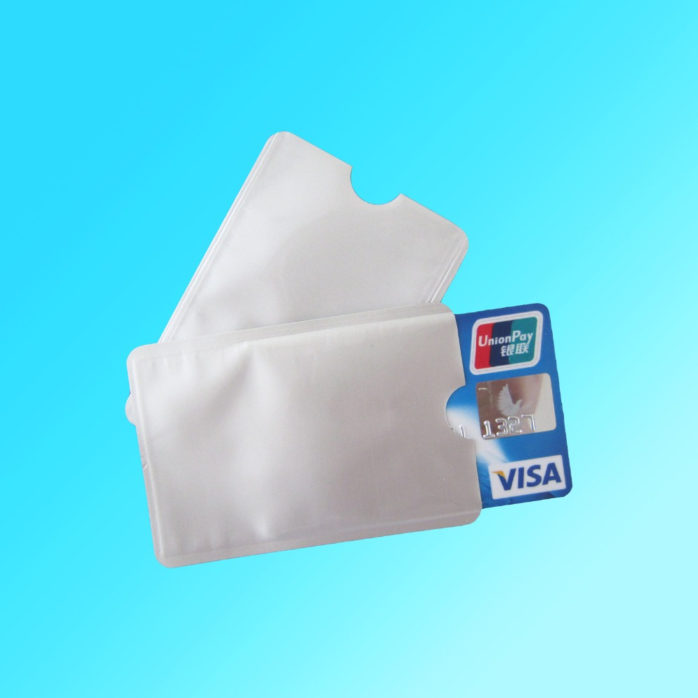 20pcs/lot Anti Theft Credit Card Protector RFID Blocking Secure Aluminum Sleeve Protect your money and ID lavleen kaur and narinder deep singh evaluating kissan credit card scheme in punjab india