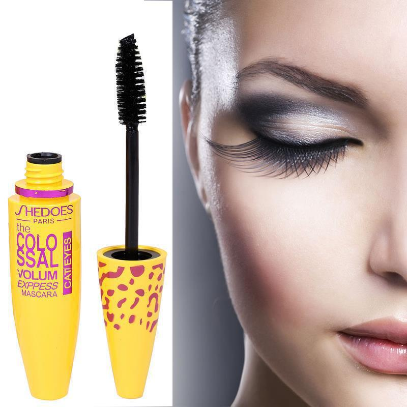 Image 2 - 1pc Makeup Mascara Eyes 3D Fiber Lashes Volume Cosmetic Makeup Extension Length Long Curling Black 3D Mascara Eye Lashes Tools-in Mascara from Beauty & Health
